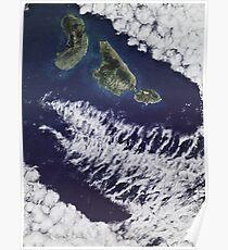 Jurassic Park Satellite Poster