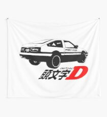 initial D logo Wall Tapestry