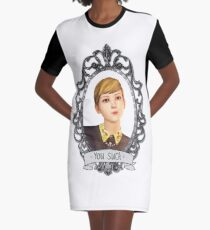 Victoria Portrait (Transparent) - Life is Strange Graphic T-Shirt Dress