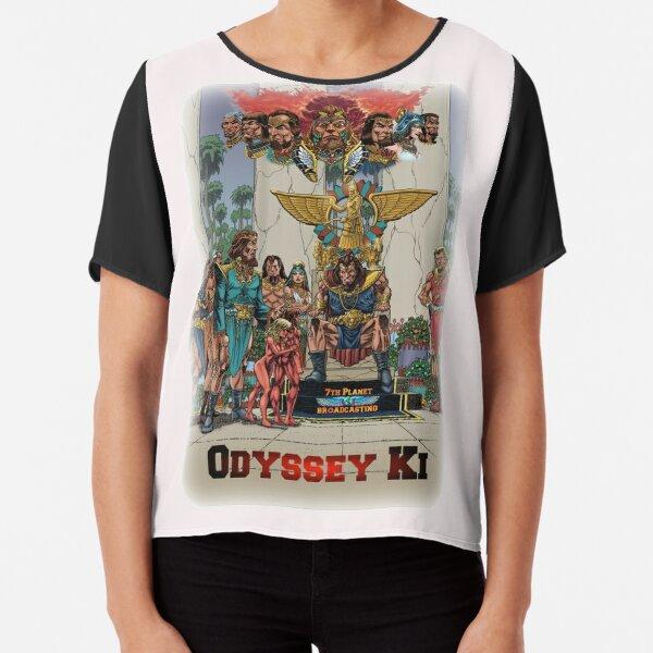 Odyssey Ki-Earth Chiffon Top