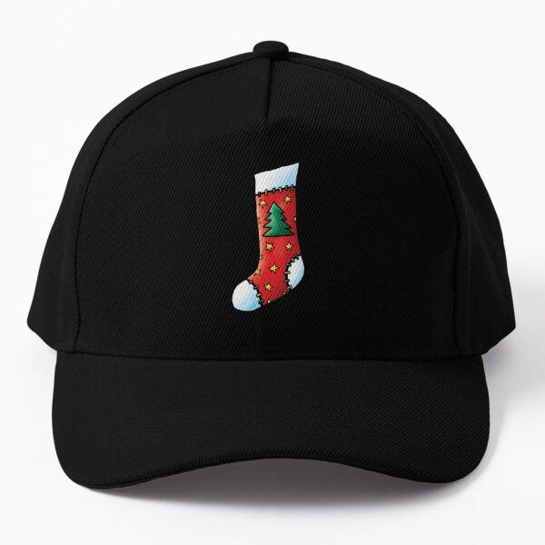 Christmas Stocking Tree Baseball Cap