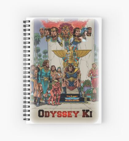 Odyssey Ki-Earth Spiral Notebook