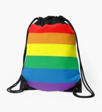 Pride Colors Drawstring Bag