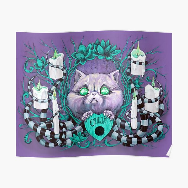 A Seance With Madame Meow-Meow, Gifted Medium Poster