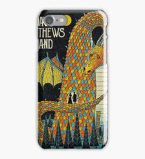 DAVE MATTEWS BAND - POSTER - SARATOGA SPRINGS, NY iPhone Case/Skin