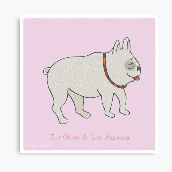 Dogs of San Francisco #4 Canvas Print
