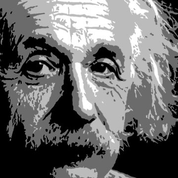 Albert Einstein by ThugPigeon