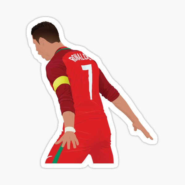 Cristiano Ronaldo - Portugal Pegatina