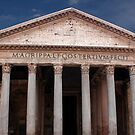 The Pantheon Rome Italy by John Wallace