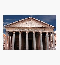 The Pantheon Rome Italy Photographic Print