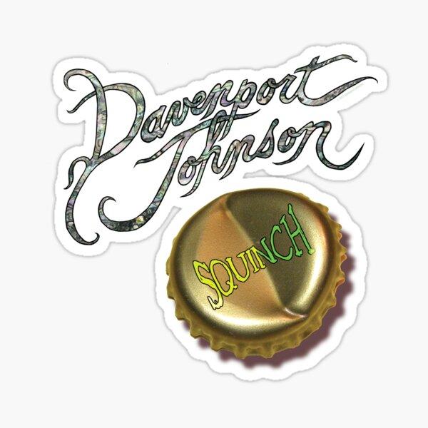 "Davenport Johnson ""SQUINCH"" Cover no background Sticker"