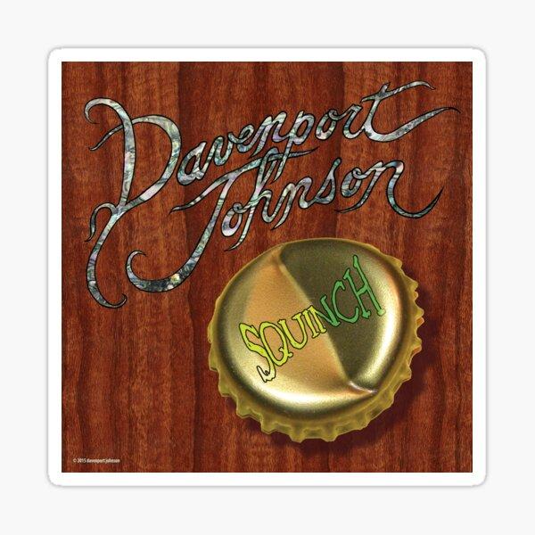 """Davenport Johnson """"SQUINCH"""" Cover Sticker"""