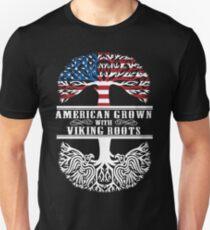Amerikaner mit Viking-Wurzeln Unisex T-Shirt