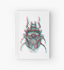 3D Beetle Illustration - Arbeitet mit 3D-Brille !!! Notizbuch