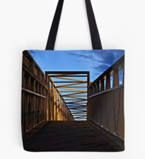 Overpass at night Tote Bag