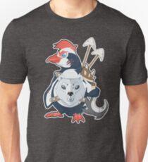 Penguin Warrior - Vector T-Shirt