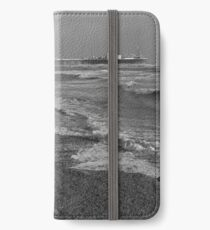 Blackpool Beach  iPhone Wallet