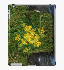 flower between nike iPad Case/Skin
