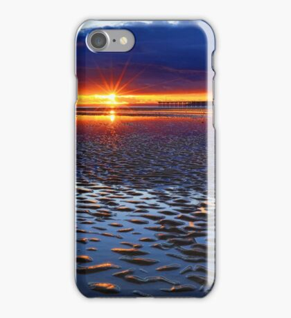 Lighting up the sands. iPhone Case/Skin