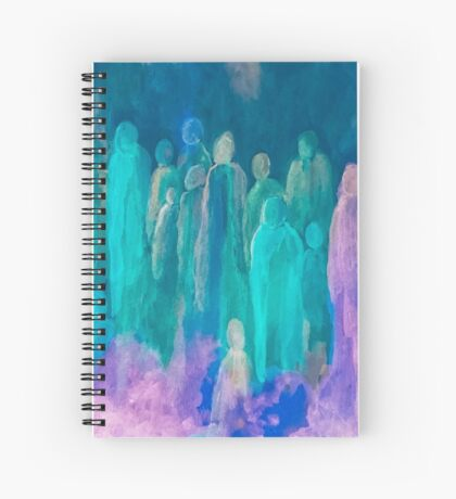 Watchers of the Night Spiral Notebook