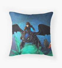 The Alpha Protects Them All Throw Pillow