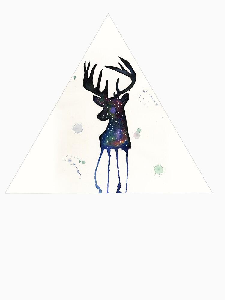 Spirit Nebula Stag by creaturesofnat