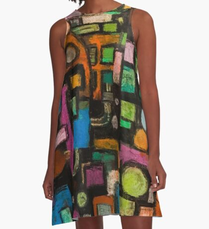 Life in the City A-Line Dress