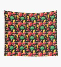 Hot Peppers Wall Tapestry