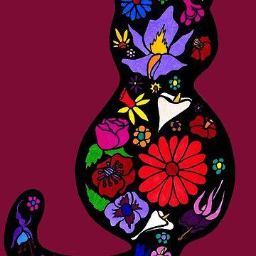 Flower Puss by Munnaminx