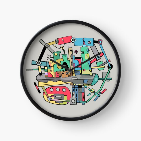 Stadtansicht Uhr