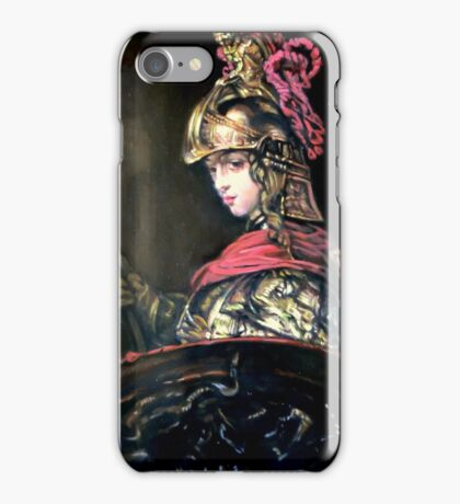Pallas Athena after Rembrandt iPhone Case/Skin