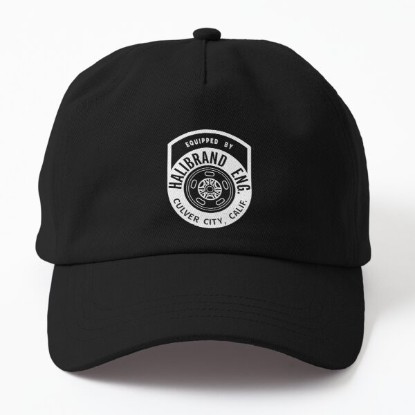 Equipped by Halibrand Engineering Racing Wheels  Dad Hat