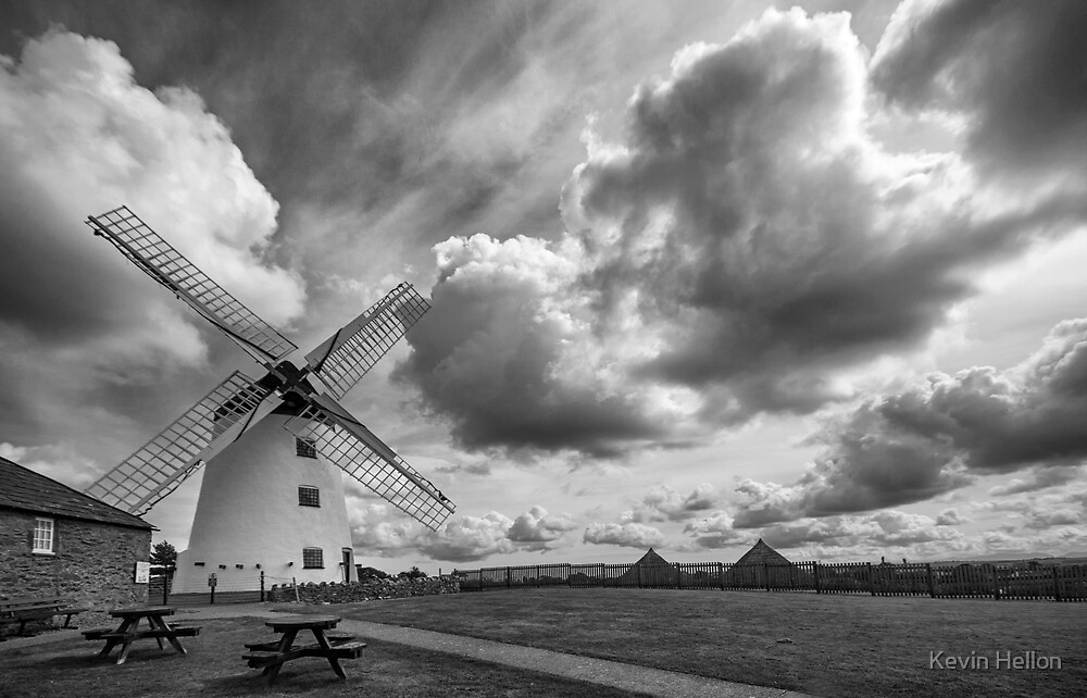 Waiting for the wind by Kevin Hellon