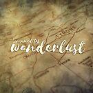 «Consumed by wanderlust» de imaginadesigns