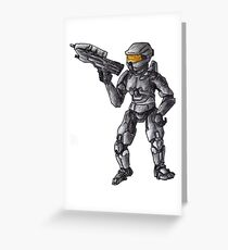 Halo Greeting Card