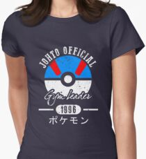 JOHTO Gym Leader  Women's Fitted T-Shirt