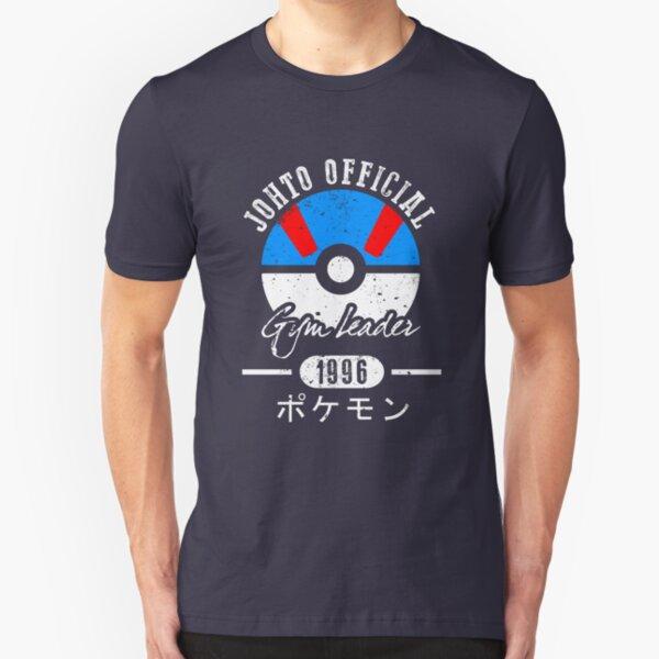 JOHTO Gym Leader  Slim Fit T-Shirt