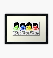 The Beatles/Beetles Framed Print