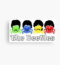 The Beatles/Beetles Canvas Print