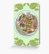 Pokemon Terrarium Greeting Card