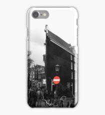 Slim buildings Amsterdam iPhone Case/Skin