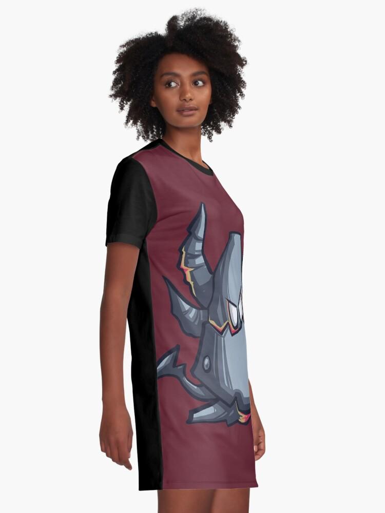 Alternate view of Deathwing chibi Graphic T-Shirt Dress