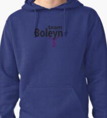 Anne Boleyn 'Team Boleyn' slogan with B necklace Pullover Hoodie