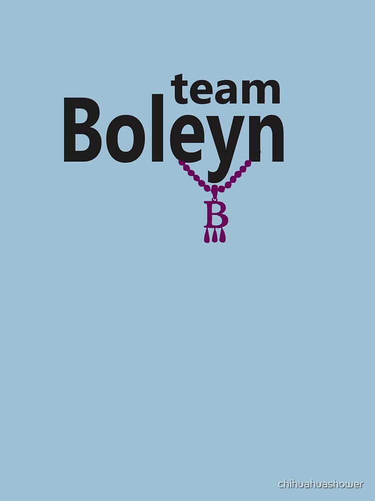 Anne Boleyn 'Team Boleyn' slogan with B necklace by chihuahuashower