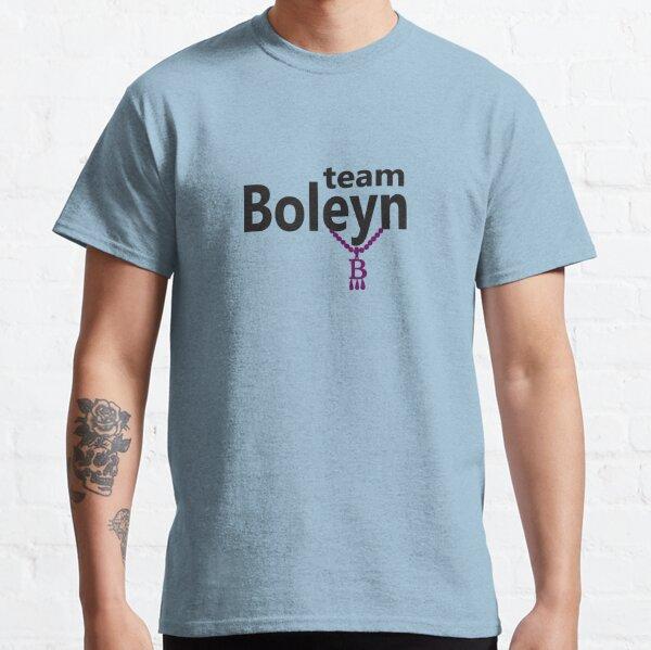 Anne Boleyn 'Team Boleyn' slogan with B necklace Classic T-Shirt