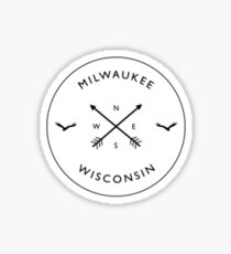 Milwaukee Compass Sticker