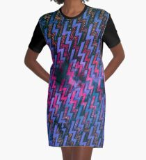 electric storm 2 Graphic T-Shirt Dress