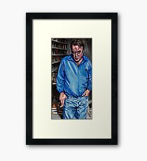 The Hitch Framed Print