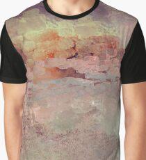 Sunset Impressionistic Landscape Design Graphic T-Shirt