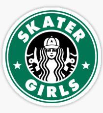 Skater Girls  Sticker
